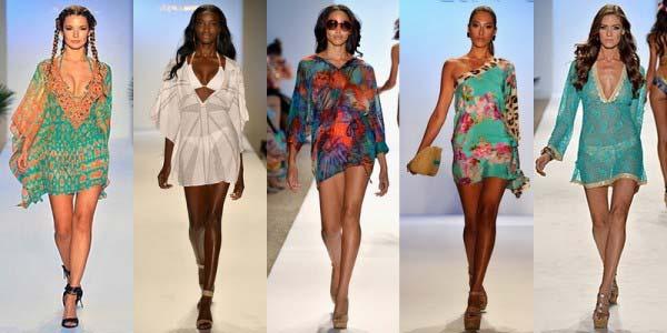 2b8eb6756fb Модные пляжные туники платья 2019  фото новинки для полных весна лето