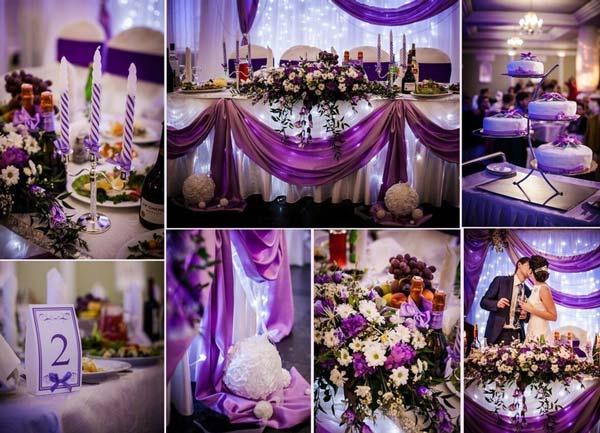 Цвета для свадьбы осень 2017