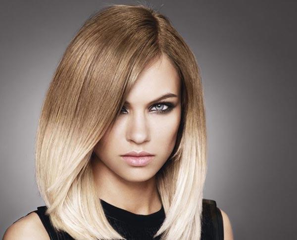 Как покрасить модно волосы средней длины