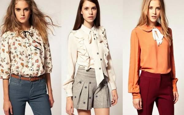 038fed65d79 Блузки 2019 года модные тенденции  фото новинки весна лето