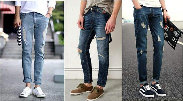 a1289c88fd2 Модные мужские джинсы 2019 года  фото тенденции