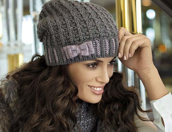 модные женские вязаные шапки 2019 фото схемы с описанием осень зима