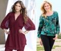 Модные женские туники 2017 года